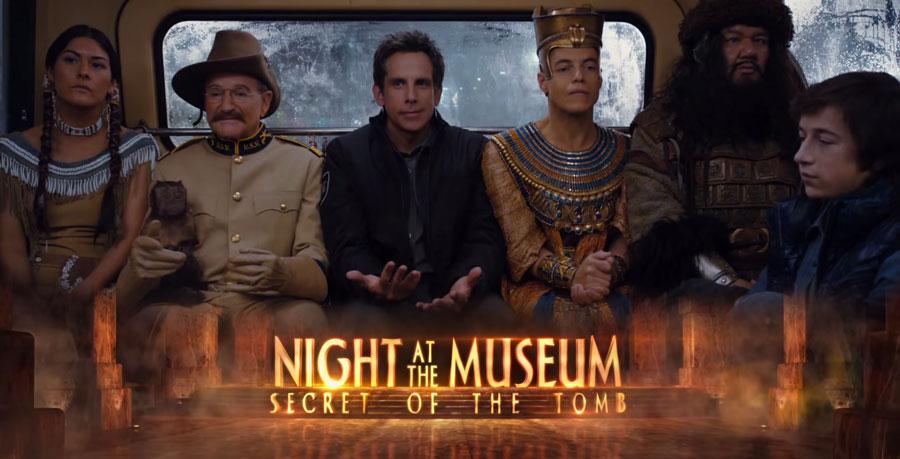 Una Noche en El Museo 3 - Robin Williams