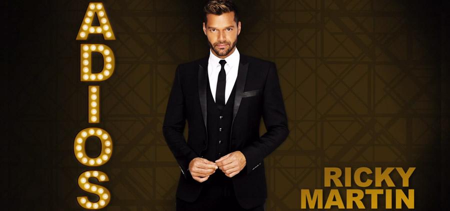 Ricky Martin nueva canción Adiós