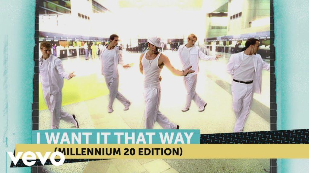video especial de I Want It That Way